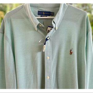 NWT Men's Polo Ralph Lauren Knit Oxford XXL